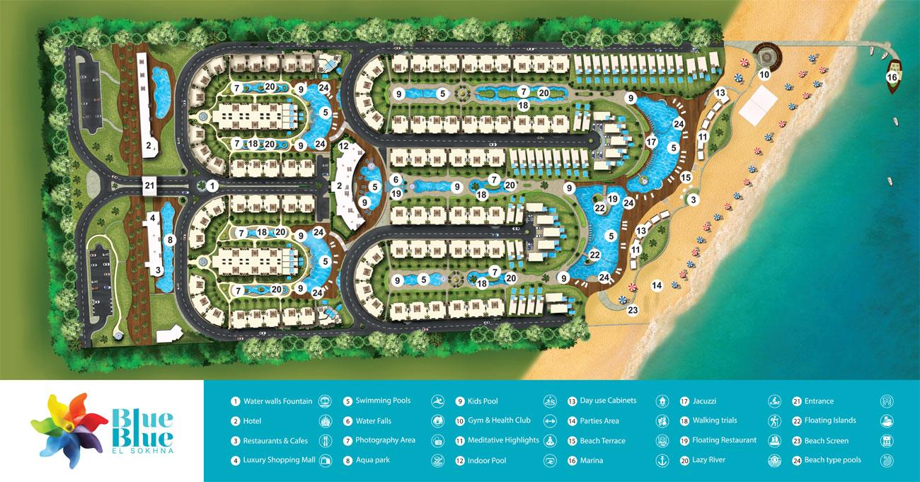 Blue Blue Resort Master Plan