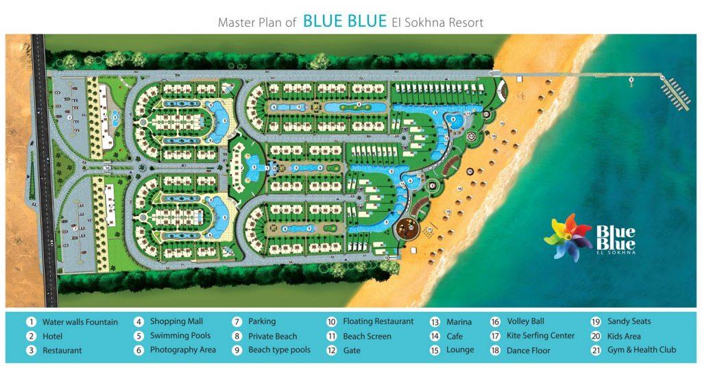 Blue Blue Resort Master Plan